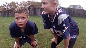 Kids Playing Backyard Football Reedsburg Backyard Football 3 Youtube