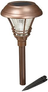 westinghouse solar path lights westinghouse brown kenbury solar outdoor garden pathway led stake