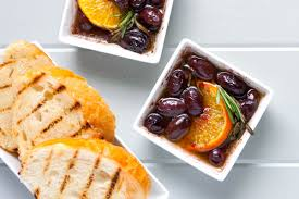 clementine cuisine rosemary marinated olives with clementine