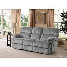 Grey Sofa Recliner Keesling Motion Sofa With Drop Console Assorted Colors