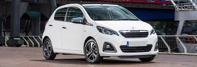 list of all peugeot cars list of the smallest cars you can buy carwow