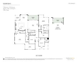 3 Bay Garage Plans by Encinitas Enclave California West Communities