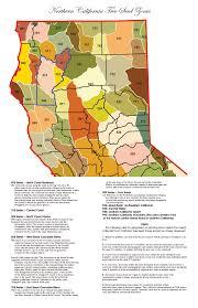 Redding California Map Northern California Tree Seed Zones2 Jpg