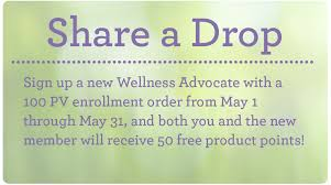Doterra February 2017 Product Of The Month Doterra Share A Drop Promotion May 2017
