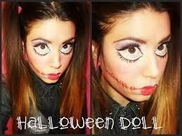 tutorial halloween doll makeup bambola assassina super facile