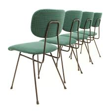Set Of Four Dining Chairs Set Of Four Dining Chairs Designed By W H Gispen For Kembo
