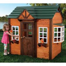 kidkraft my woodland playhouse 155 hayneedle