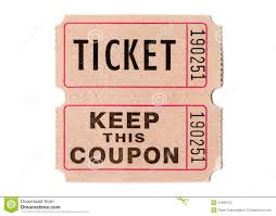 retro vintage tickets and coupons stock photo image 43086152