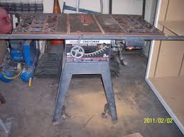 10 Craftsman Table Saw Craftsman Contractor 10 Table Saw 3 Hp Diggerslist