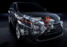 how does lexus hybrid cars work the lexus nx 300h powertrain