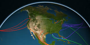 us map globe map shows history of us immigration business insider