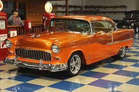 1955 chevrolet bel air f i u2013 ppg copper tangerine pearl u2013 a u0026e