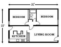2 Bedroom Flat Floor Plan 2 Bedroom Building Plans Shoise Com