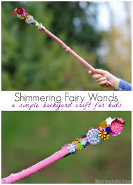 shimmering wands a fairy craft for kids where imagination grows