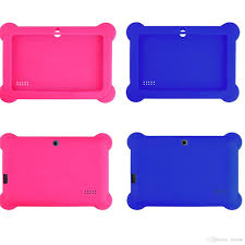 anti dust kids child soft silicone rubber gel case cover for 7 7