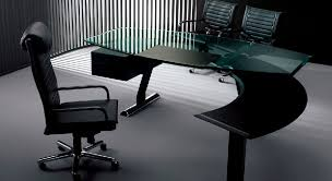 Glass Office Desk Glass Executive Desk Amazing Modern Furniture Info Within 16