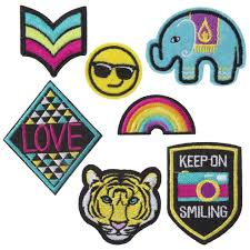 alex toys craft iron and wear rad patches alexbrands