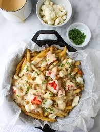 Lobster Bisque Recipe Lobster Poutine With Brown Butter Cheese Sauce