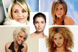 rectangle face shape hairstyles celebrities oval shaped faces hairstyles for face shape medium