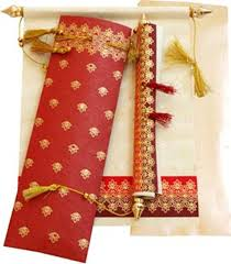 Scroll Wedding Cards Design With Price All About Indian Wedding Cards Printing And Publishing