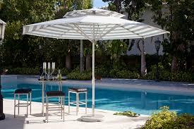Grey Patio Umbrella Riviera Commercial Patio Umbrella