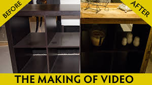 ikea hacking ikea hack diy furniture customizing reclaimed wood video youtube
