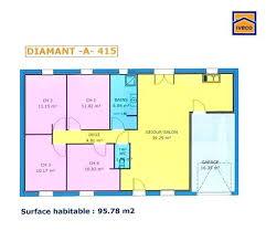 plan de maison 4 chambres plan maison plain pied 80m2 plan maison plain pied 80m2 constructeur
