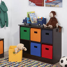 amazon com riverridge kids 6 bin storage cabinet espresso