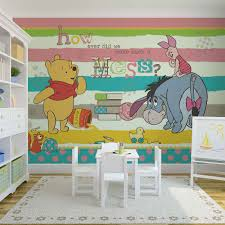 disney winnie pooh eeyore piglet wall mural for your home buy at price from
