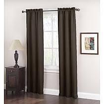 Black Tan Curtains Black Drapes U0026 Curtains Kmart