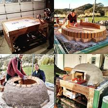 How To Build A Pizza Oven In Your Backyard Building A Mortarless Wood Fire Pizza Oven Oven Pizzas And Bricks