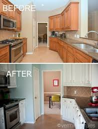 a diy project painting your kitchen cabinets