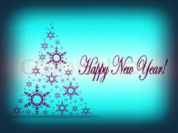 2012 happy new year greeting card or background stock photo
