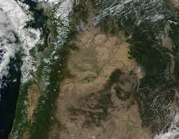 Washington State Fire Map by Nasa Visible Earth Wild Fires In Washington State And British