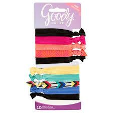 goody hair ties goody hair elastics 10 ea target