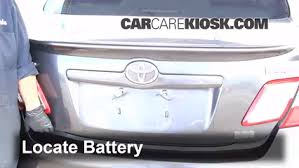 2011 toyota camry battery battery replacement 2007 2011 toyota camry 2009 toyota camry