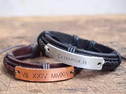 Customized Engraved Bracelets Mens Personalized Bracelet Men U0027s Customized Bracelet Roman