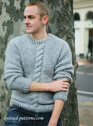 free crochet patterns for sweaters free crochet pattern simple cosy chunk cable sweater for