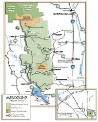 The Forest Map Mendocino National Forest Maps U0026 Publications