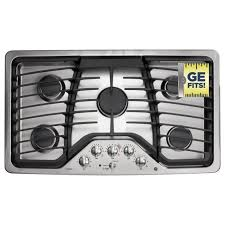 Whirlpool Gold Gas Cooktop Ge Monogram 36 Professional Gas Cooktop With 6 Burners Zgu36n6dss