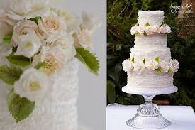 fondant wedding cakes fondant frills garden flowers cake magazine