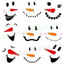 25 snowman faces ideas cute cartoon eyes