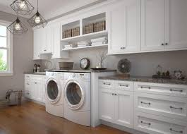 laundry in kitchen laundry room cabinets white recous