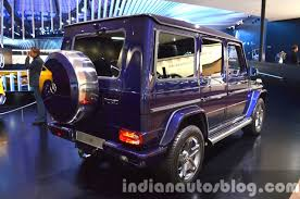2018 mercedes g class may have independent air suspension