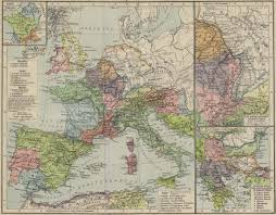 Map Of Europe 1938 by Map Of The Roman Empire Ad 117 Shepherd