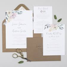 Blush Wedding Invitations Wedding Invitations U2013 Pear Paper Co