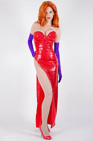 Halloween Costume Jessica Rabbit Jessica Rabbit Cosplay Jessica Rabbit Costume Rabbit Costume