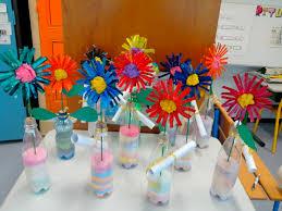 Fleurs Pour Fete Des Meres Bricolage Un Vase Fleuri Fête Des Mamans 2013 Meroute En Clis