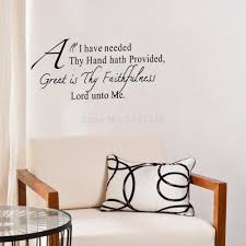 Wall Quotes For Living Room by Christian Wall Quotes Promotion Shop For Promotional Christian