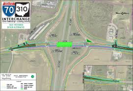Ohio Highway Map by Pages I 70 Sr 310 Interchange